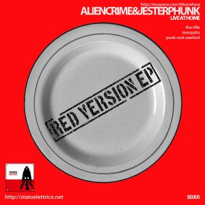 Aliencrime & Jesterphunk – Live @ Home – Red Version