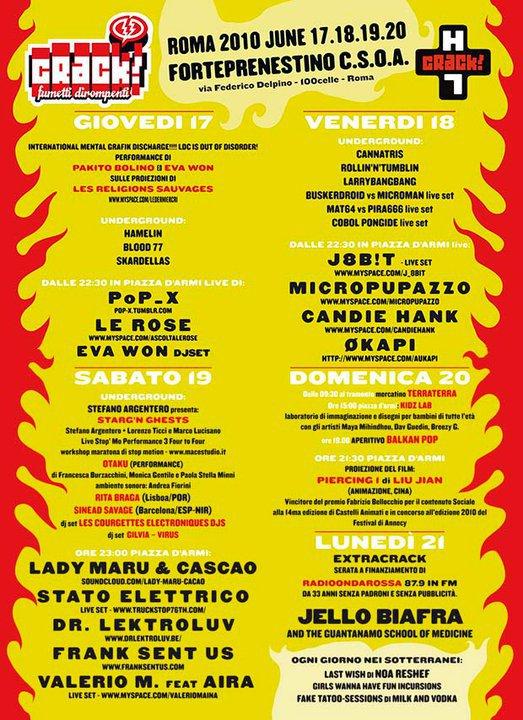 Crack Festival 2010